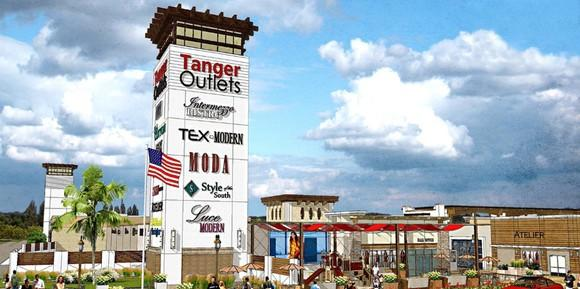 A Tanger Factory Outlets location in Fort Worth, TX.