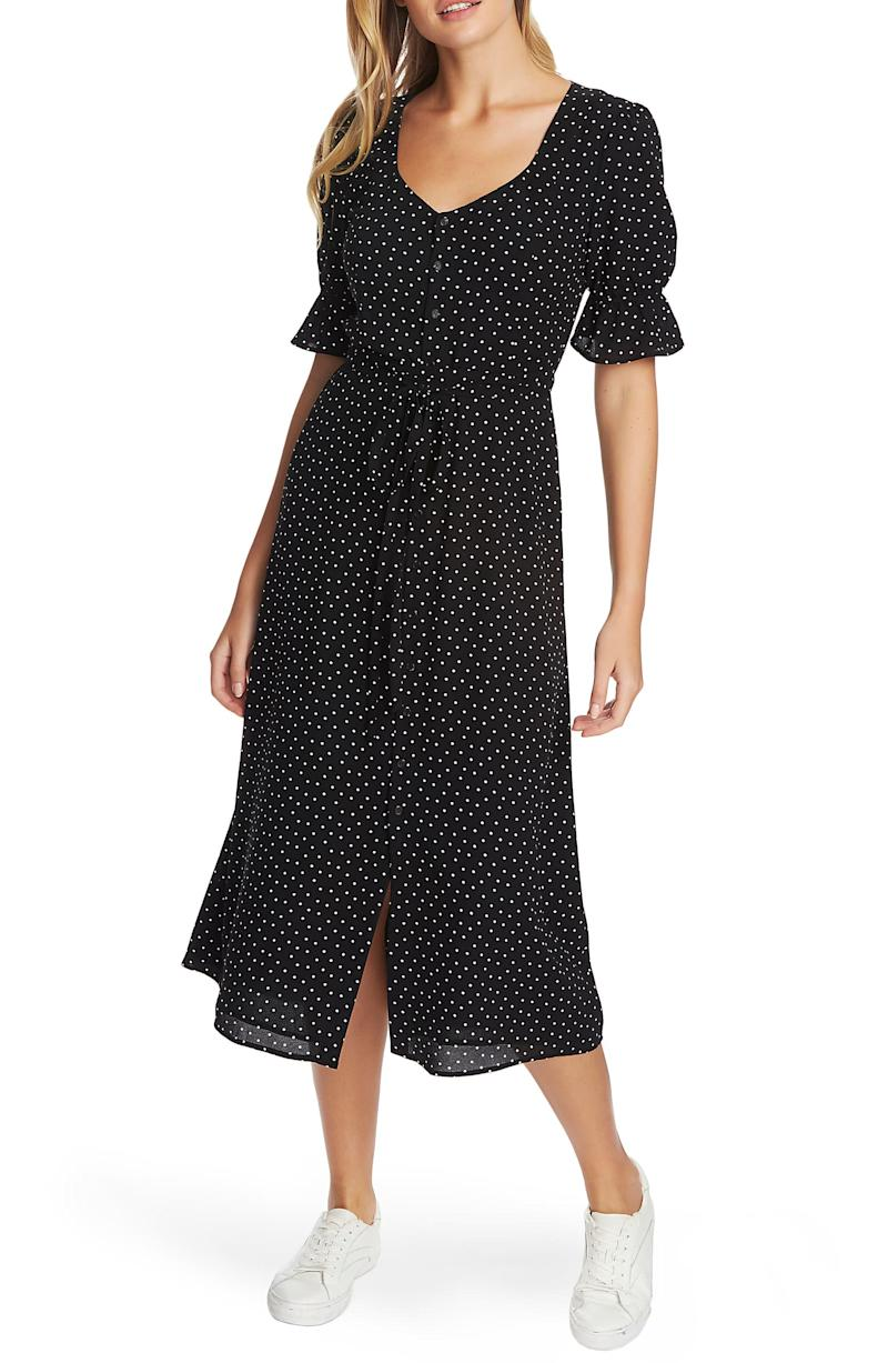 1.State Scatter Dot Puff Sleeve Dress. Image via Nordstrom.