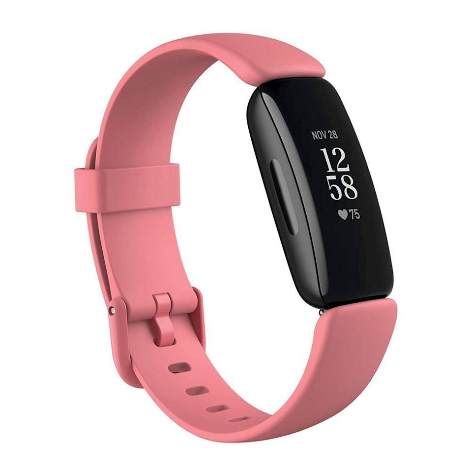 "<p><strong>Fitbit</strong></p><p>amazon.com</p><p><strong>$68.95</strong></p><p><a href=""https://www.amazon.com/dp/B08DFDP1TR?tag=syn-yahoo-20&ascsubtag=%5Bartid%7C10063.g.35029603%5Bsrc%7Cyahoo-us"" rel=""nofollow noopener"" target=""_blank"" data-ylk=""slk:Shop Now"" class=""link rapid-noclick-resp"">Shop Now</a></p><p>Priced at less than $100, the Fitbit Inspire 2 is the best pick for budget-conscious buyers available today. It has an elegant design, automatic workout tracking, continuous heart-rate monitoring, a fully waterproof body, up to 10 days of battery life between charges, and the ability to keep tabs on the quality of your sleep.</p><p>What we like most about the Inspire 2 is its attractive and slim design. It's stylish enough to wear anywhere and always blends in with your outfit.</p><p>Equipped with an OLED touchscreen, the Inspire 2 is also easy to use. You're able to adjust the brightness of the screen which comes in handy on afternoon runs when the sun is its brightest. Compared to the <a href=""https://www.amazon.com/Garmin-010-01995-10-v%C3%ADvosmart-Activity-Midnight/dp/B07GM7WHBG/?tag=syn-yahoo-20&ascsubtag=%5Bartid%7C10063.g.35029603%5Bsrc%7Cyahoo-us"" rel=""nofollow noopener"" target=""_blank"" data-ylk=""slk:Garmin vívosmart 4"" class=""link rapid-noclick-resp"">Garmin vívosmart 4</a>, this fitness tracker detected our activities better and its touchscreen was superior.<br></p><p>If you want, the gadget will send you notifications from your smartphone, ensuring that you never miss an important email, text, or app alert. However, we think if you have the budget for it, you'd be better off spending more on the <a href=""https://www.amazon.com/dp/B08DFPZG71?linkCode=ogi&tag=syn-yahoo-20&ascsubtag=%5Bartid%7C10063.g.35029603%5Bsrc%7Cyahoo-us"" rel=""nofollow noopener"" target=""_blank"" data-ylk=""slk:Fitbit Versa 3"" class=""link rapid-noclick-resp"">Fitbit Versa 3</a> to make the most of these smartwatch-like features since the Inspire 2 has a significantly smaller screen.</p><p>As expected from a Fitbit product, the Inspire 2 will present all the fitness data it collects in an intuitive mobile app. Fitbit offers the Inspire 2 with a black case, along with several band options to customize the device to your liking.</p><p><strong>Read More: </strong><a href=""https://www.bestproducts.com/tech/gadgets/g1585/fitbit-reviews/"" rel=""nofollow noopener"" target=""_blank"" data-ylk=""slk:Our Reviews on Other Fitbit Fitness Trackers and Smartwatches"" class=""link rapid-noclick-resp"">Our Reviews on Other Fitbit Fitness Trackers and Smartwatches</a></p>"