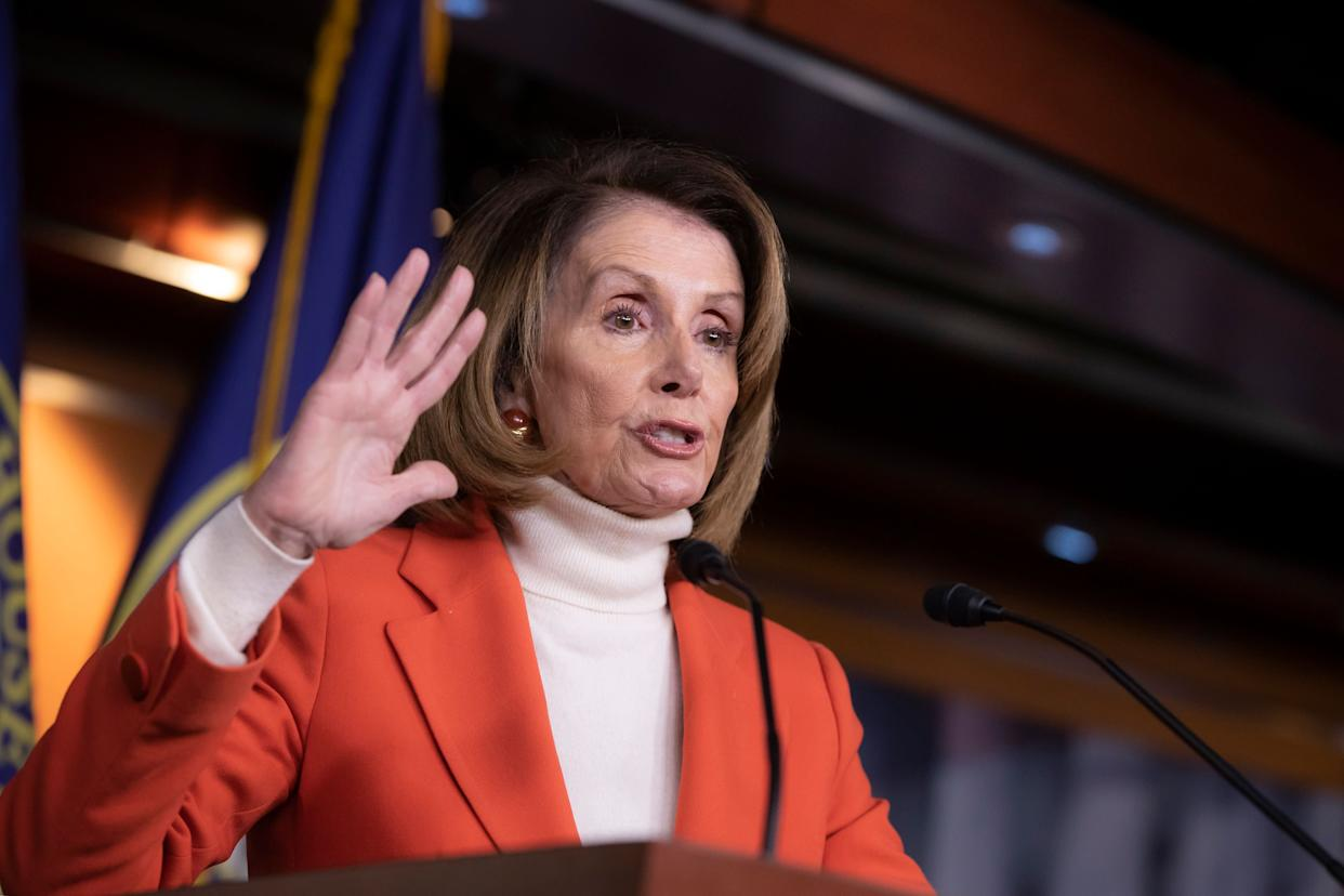 Nancy Pelosi will need at least 218 votes to be speakerof the House in the next session of Congress. About 234 Democrats are expected in the chamber next year, and 17 have already pledged to oppose her. (Photo: Associated Press)