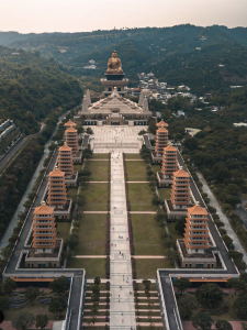 Fo Guang Shan (Courtesy of Breckler Pierre)