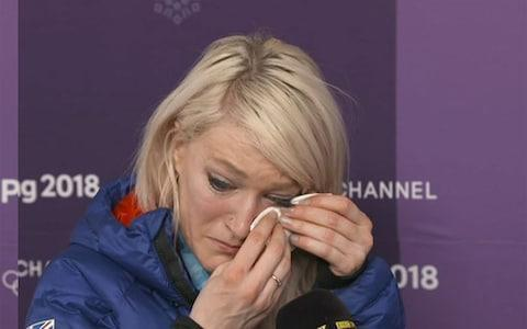 British Olympic skate star who broke down after defeat reveals her grandfather with Alzheimer's is inspiration ahead of major race