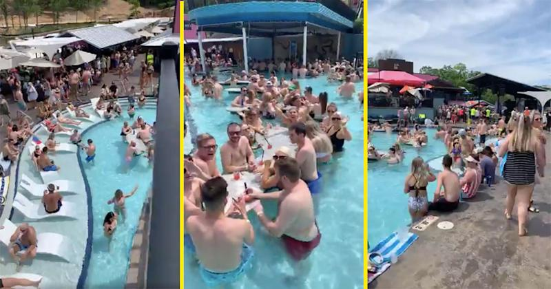 Videos Of Crowded Lake Of The Ozarks Party Go Viral Amid Coronavirus Pandemic