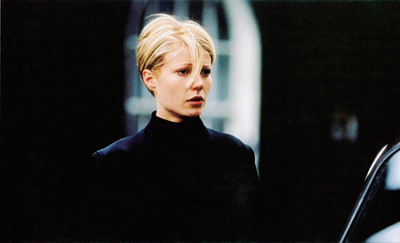 "<p>Call it a classic, coming-of-age moment: Gwyneth Palthrow's character in Sliding Doors goes from long, dull, mousy brown hair to a <a href=""https://www.popsugar.com/beauty/Celebrity-Pixie-Cuts-30658719"" class=""ga-track"" data-ga-category=""Related"" data-ga-label=""https://www.popsugar.com/beauty/Celebrity-Pixie-Cuts-30658719"" data-ga-action=""In-Line Links"">cool-girl pixie cut</a> that was huge in the late '90s, with perfect chunky highlights. One staffer said: ""I loved that they still manage to style it loads of different ways even when it was really short. Not gonna lie, I did the little twists with the flowers, even though my hair was 8 inches longer than hers.""</p>"