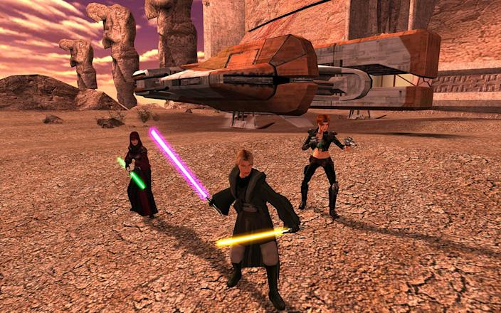 Star Wars Knights of the Old Republic 2 II The Sith Lords
