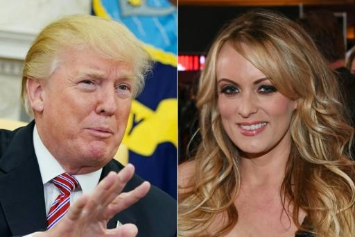 President Donald Trump denies he had an affair with porn actress Stormy Daniels, and initially denied all knowledge of a payment by his lawyer to stop her from going public