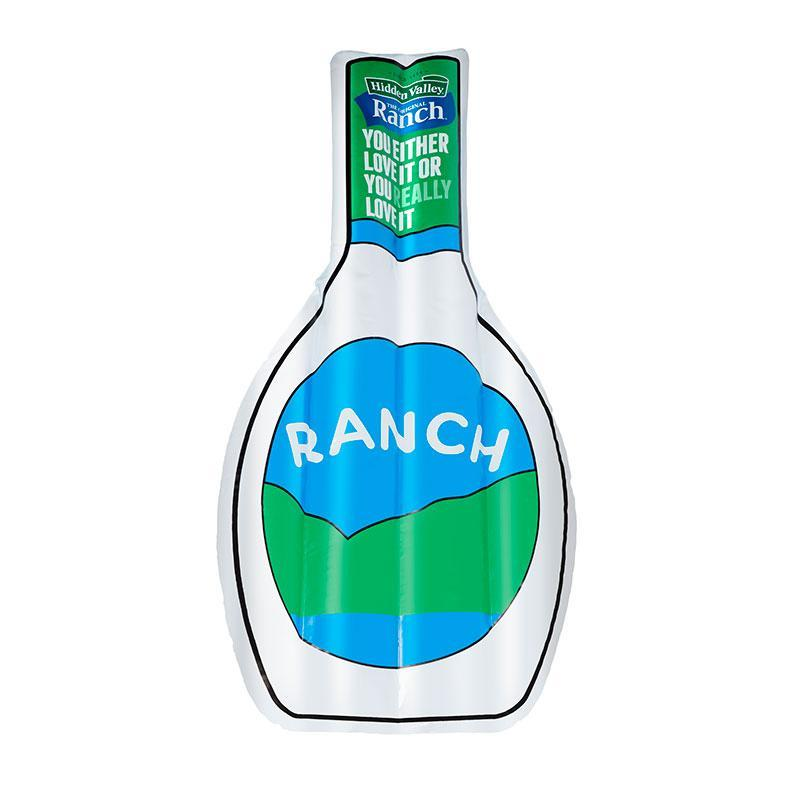 """<p><strong>Hidden Valley</strong></p><p>hiddenvalley.com</p><p><strong>$35.00</strong></p><p><a href=""""https://www.hiddenvalley.com/ranch-shop-products/hidden-valley-ranch-pool-float"""" rel=""""nofollow noopener"""" target=""""_blank"""" data-ylk=""""slk:Shop Now"""" class=""""link rapid-noclick-resp"""">Shop Now</a></p><p>Life motto: everything is better with ranch (even your swimming pool).</p>"""