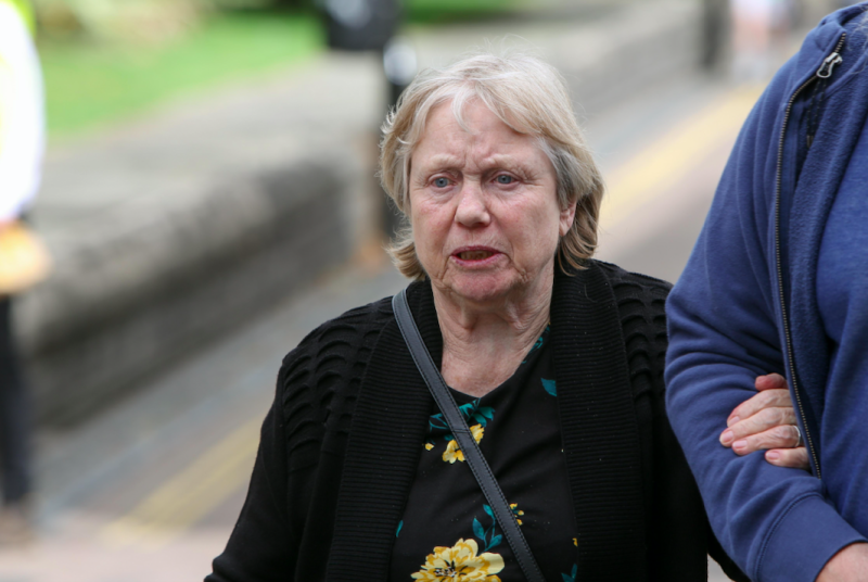 Mrs Eccleston was cleared of murder and manslaughter in September (SWNS)