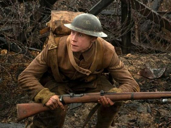 Thomas Newman scored Sam Mendes's film, '1917' (Universal Pictures/AP)