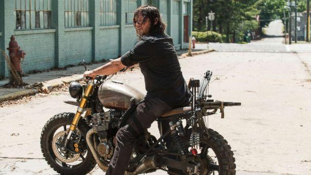 PHOTO: Norman Reedus as Daryl Dixon in a scene from 'The Walking Dead,' on AMC. (Gene Page/AMC)