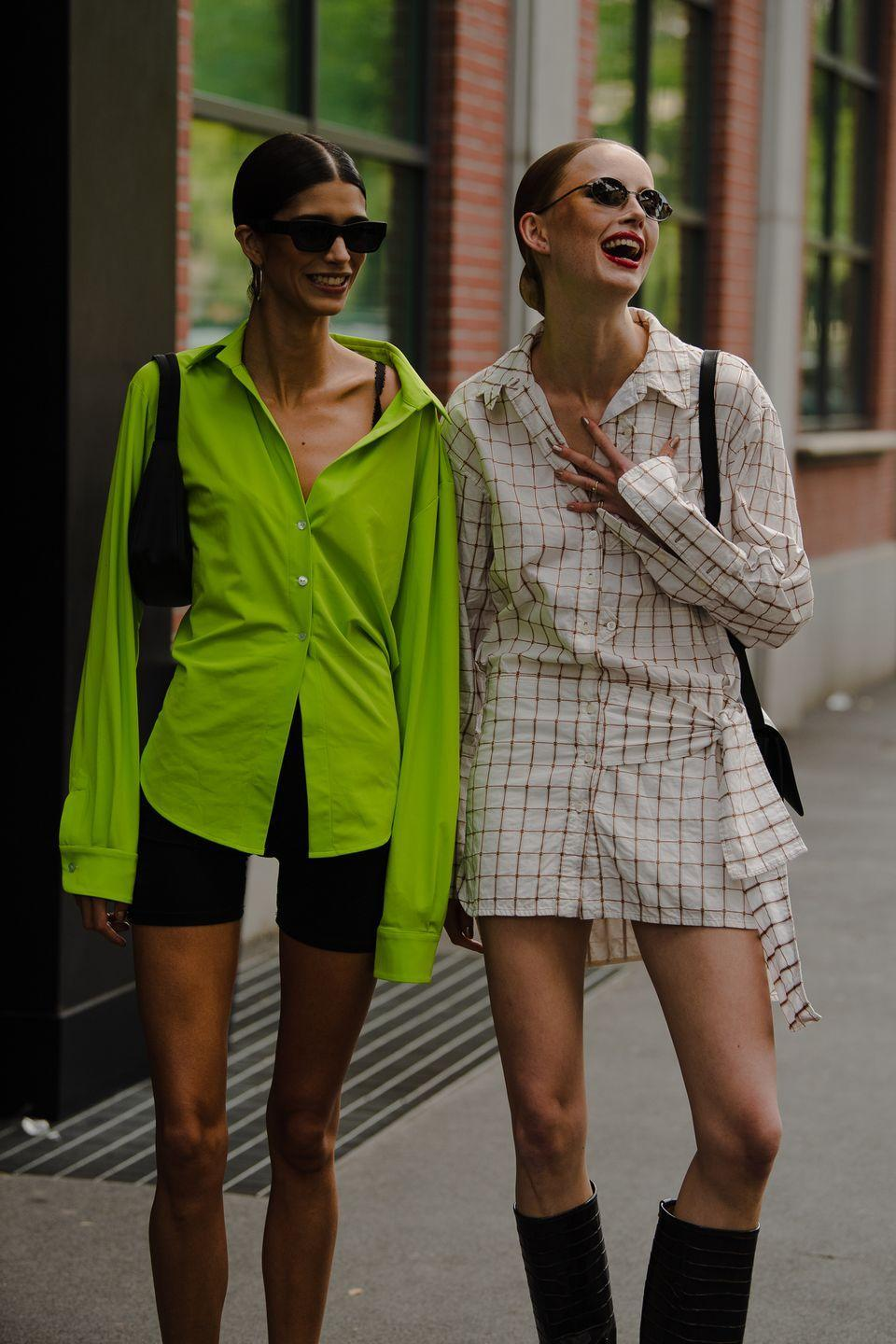 <p>Clearly, the button-downs have it.</p>
