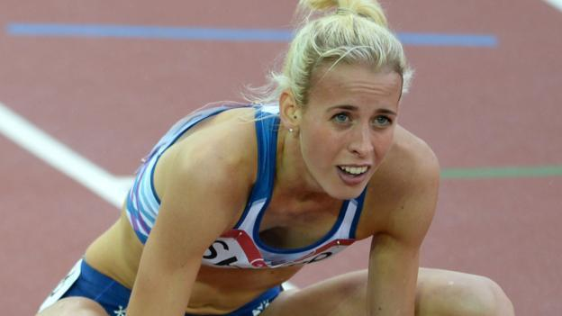 Lynsey Sharp: Scot taking break from athletics after cancer scare