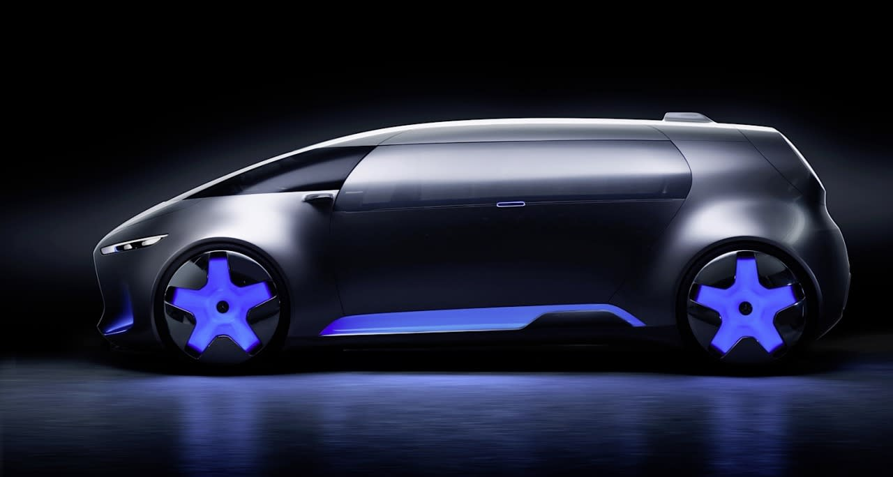 <p>While it looks like a windowless Blade Runner bread van, the designers actually put screen-printed, body-colored vinyl over the side windows and single gullwing side door, like that used in bus advertising, to create the privacy effect.<br /></p>