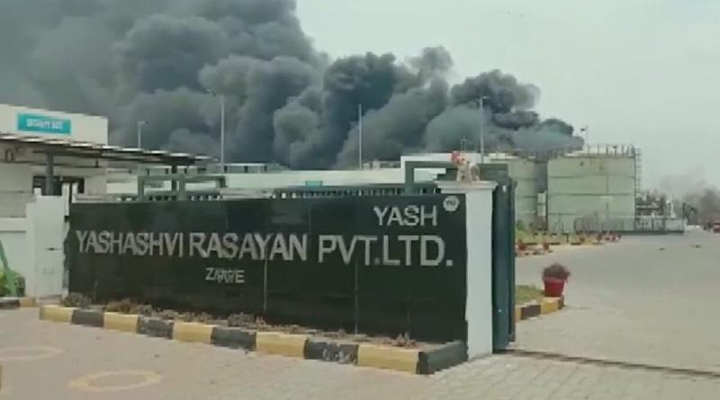 Gujarat: Fire Breaks Out at Factory in Bharuch Due to Boiler Blast, 40 Workers Injured