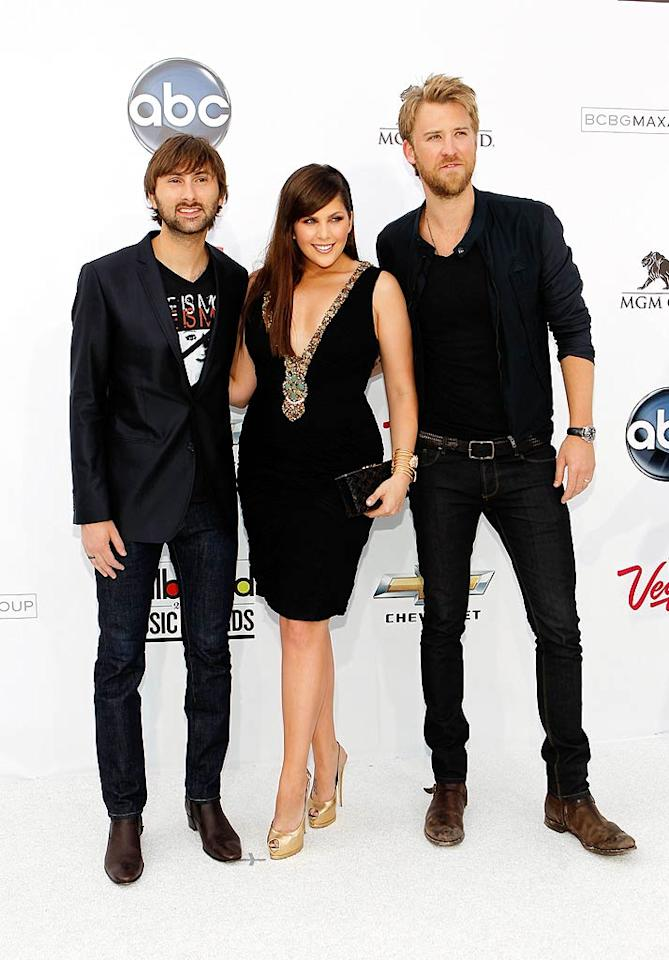 "What do you think of Lady Antebellum's country meets rock 'n' roll style ... hot or not? Isaac Brekken/<a href=""http://www.gettyimages.com/"" target=""new"">GettyImages.com</a> - May 22, 2011"