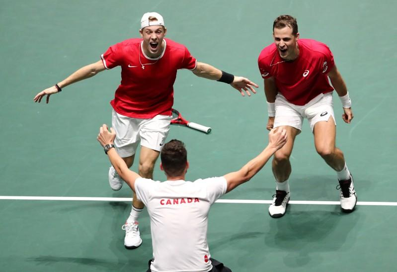 Tennis: Pospisil keeps Davis Cup magic alive as Canada advance