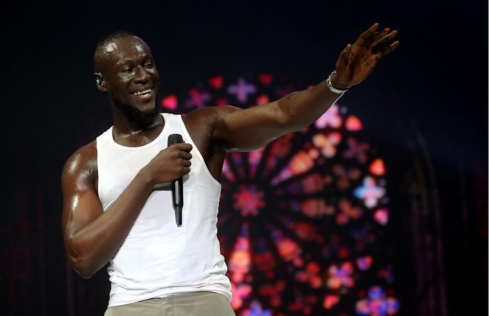 Stormzy, who has rescheduled the Asia leg of his Heavy Is The Head world tour because of coronavirus.