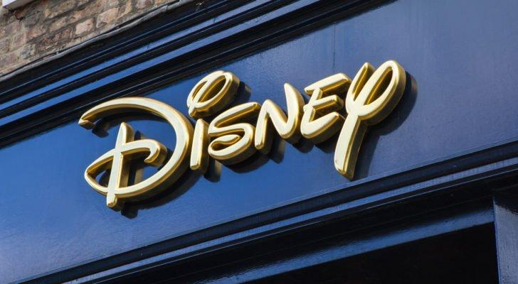 The sign for a Disney (DIS) retail store in York