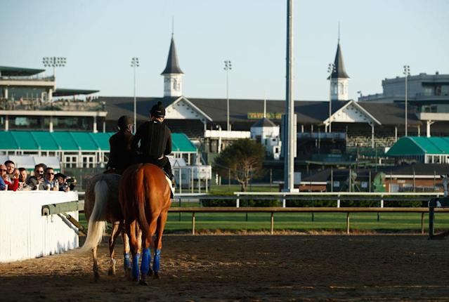 The Kentucky Derby runs again Saturday. (Getty)