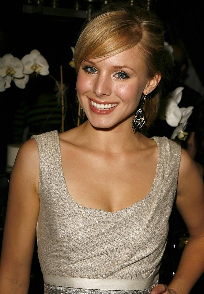 Kristen Bell at the 2006 Hollywood Life Movieline Style Awards - After Party.