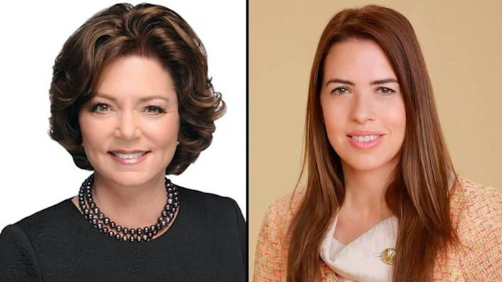 Former Pinecrest mayor and one-time State Representative Cindy Lerner, left, is running against former Miami-Dade School Board member and radio presenter Raquel Regalado in the race to represent District 7 in the County Commission.