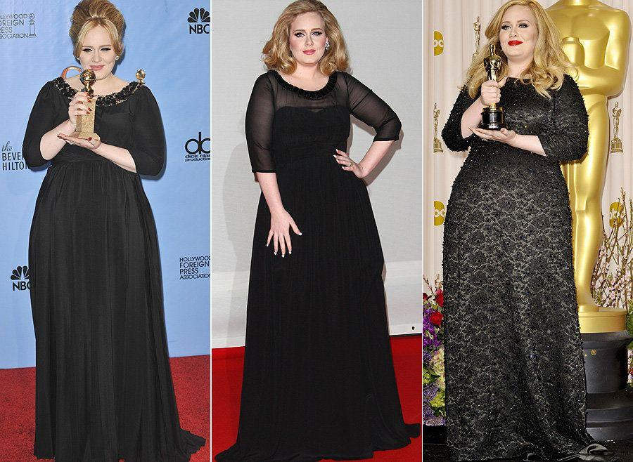 For owning the most fabulous collection of black designer dresses in the celeb universe.
