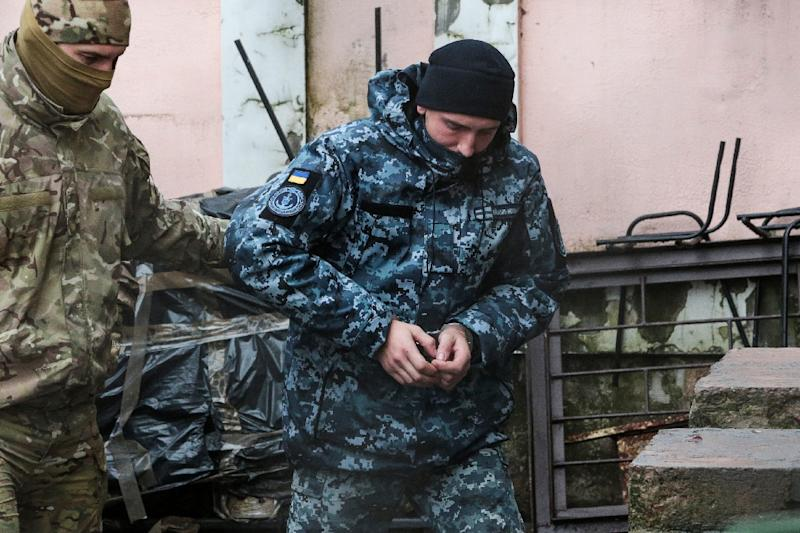 The sailors are being held in pre-trial detention for two months