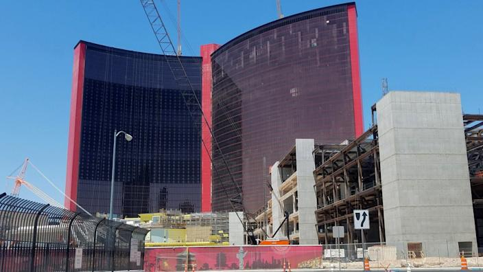 "Resorts World is being built on property where the famed Stardust hotel-casino once stood. <span class=""copyright"">(Jay Jones)</span>"