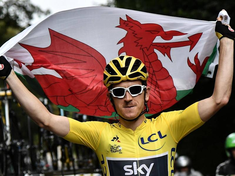 Geraint Thomas will compete in the Tour of Britain (EPA)