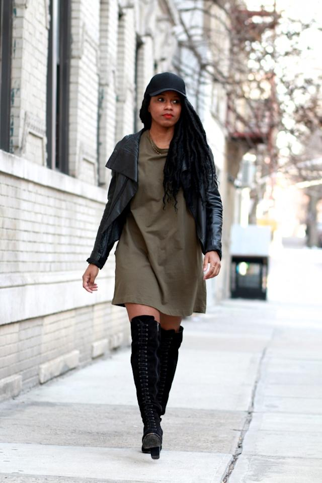 """Photo: <a rel=""""nofollow"""" href=""""http://fashionsteelenyc.com/2017/01/these-boots-were-made/"""">Fashion Steele NYC</a>"""
