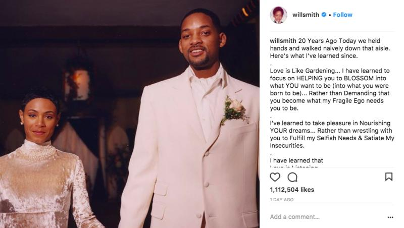 (Photo: Will Smith via Instagram)