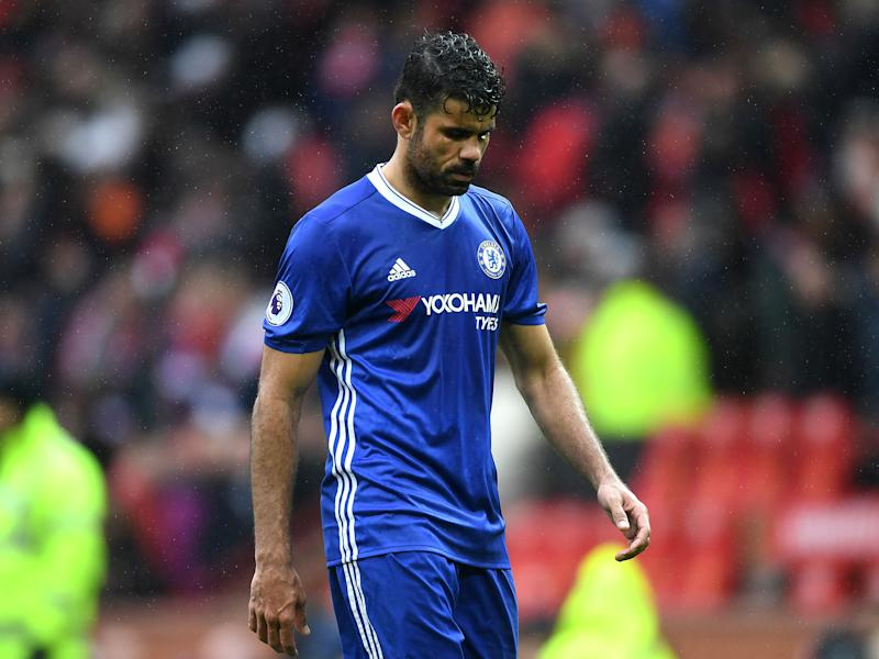 Costa has been repeatedly linked with a move away from Stamford Bridge: Getty