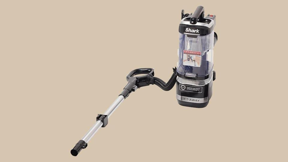 This Shark Navigator vacuum can be separated to do better at cleaning stairs and furniture cushions specifically.