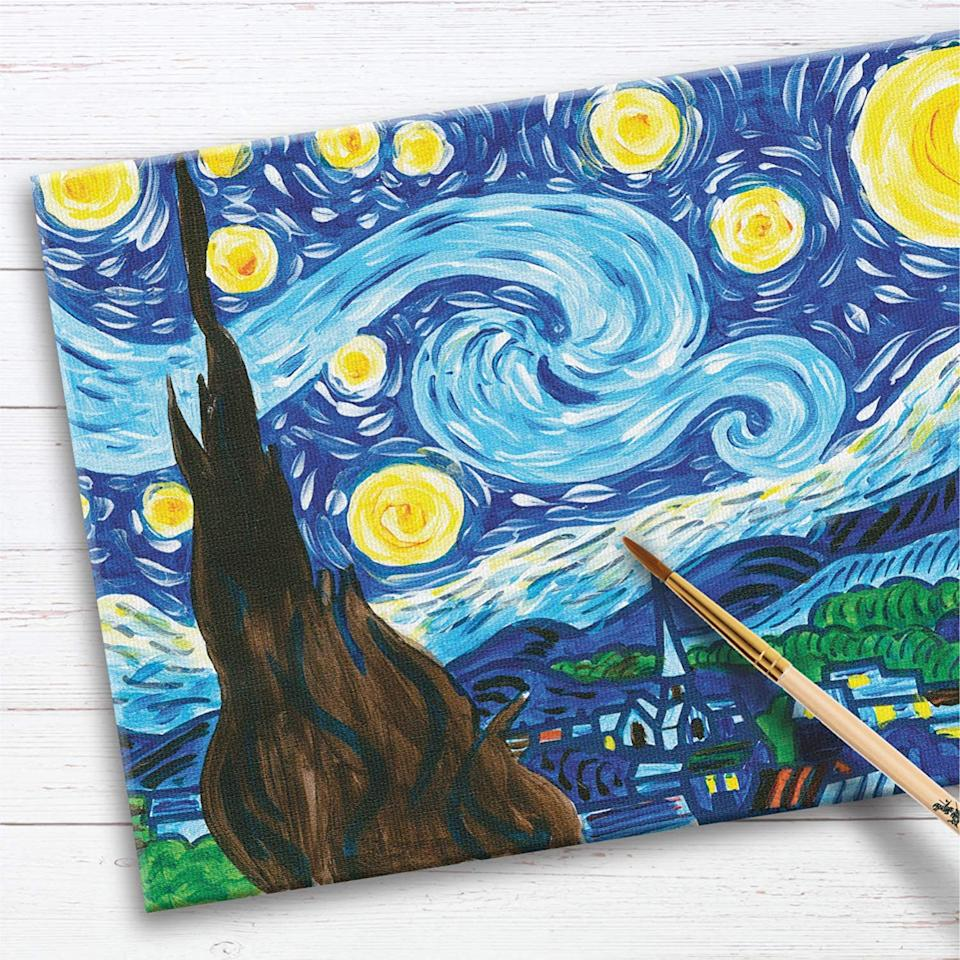 Faber-Castell The Starry Night Pl Paint By Number Museum Series, S$10.90. (Photo: Amazon)