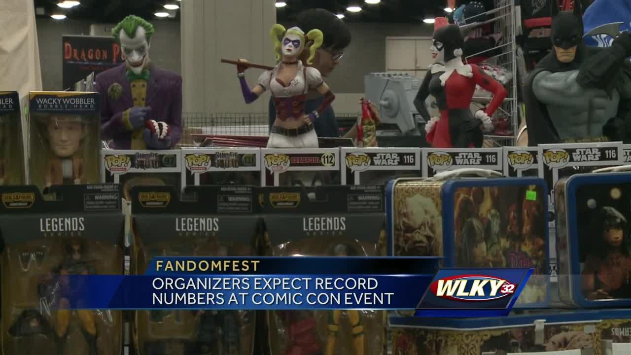 Fandom Fest is the largest Comic Con event in the region, and it kicked off Friday in Louisville at the Kentucky Expo Center.