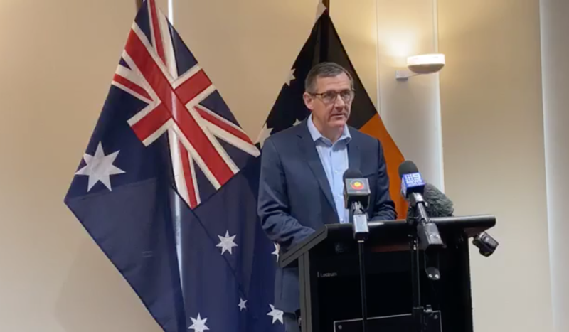 Northern Territory Chief Minister Michael Gunner says his region's borders would be closed to Victoria 'indefinitely'.