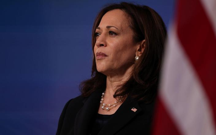 Joe Biden has asked Kamala Harris to take charge of the 'poisoned chalice' of Central American immigration to the United States - EVELYN HOCKSTEIN/REUTERS