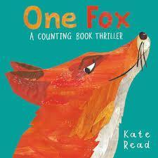 Kate Read's book 'One Fox' is a counting book thriller