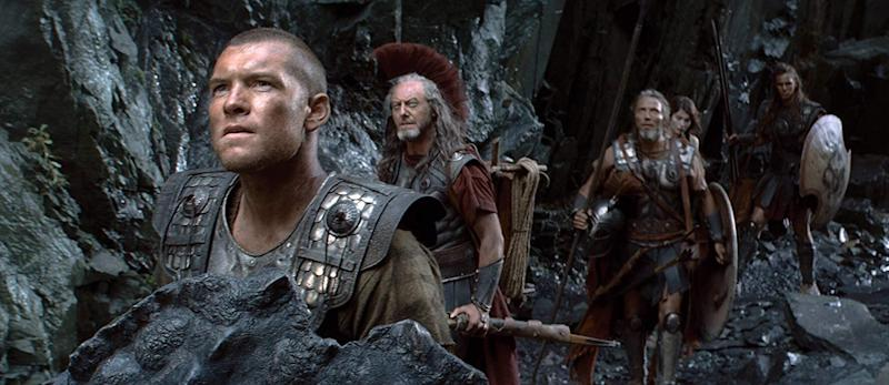 Nicholas Hoult - far right - in Clash of the Titans (Warner Bros.)