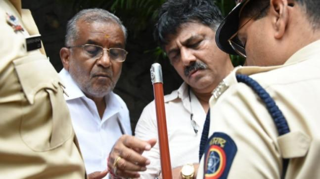Congress minister DK Shivakumar on Tuesday lashed out at the rebel MLAs and said they backstabbed him and will do the same with BJP.
