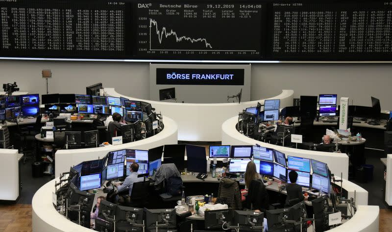 Brexit optimism puts European stocks within spitting distance of record high