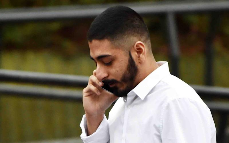 Harris Imran,who appeared at Teesside Magistrates' Court accused of common assault - Evening Gazette