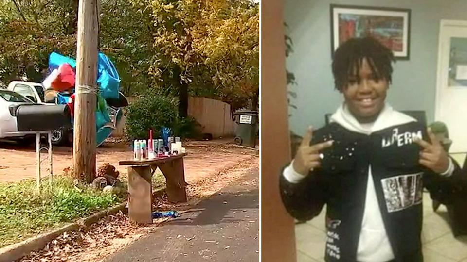Tyrell Sims was shot while walking home from helping his friend's grandmother last Friday. Source: WSB-TV