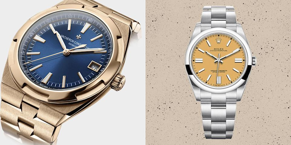 <p>The Esquire editors pick their favourite new and upcoming watches, including launches from Breitling, Audemars Piguet, Omega and Cartier.</p>