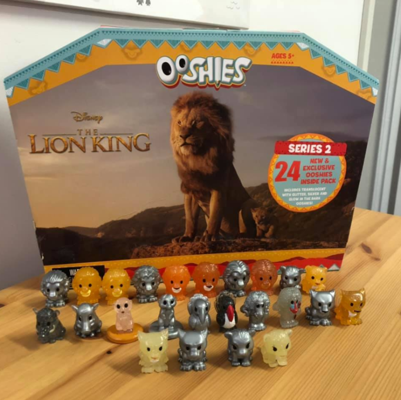 A customer's picture of the new Ooshies set and container available at Woolworths while stocks last.
