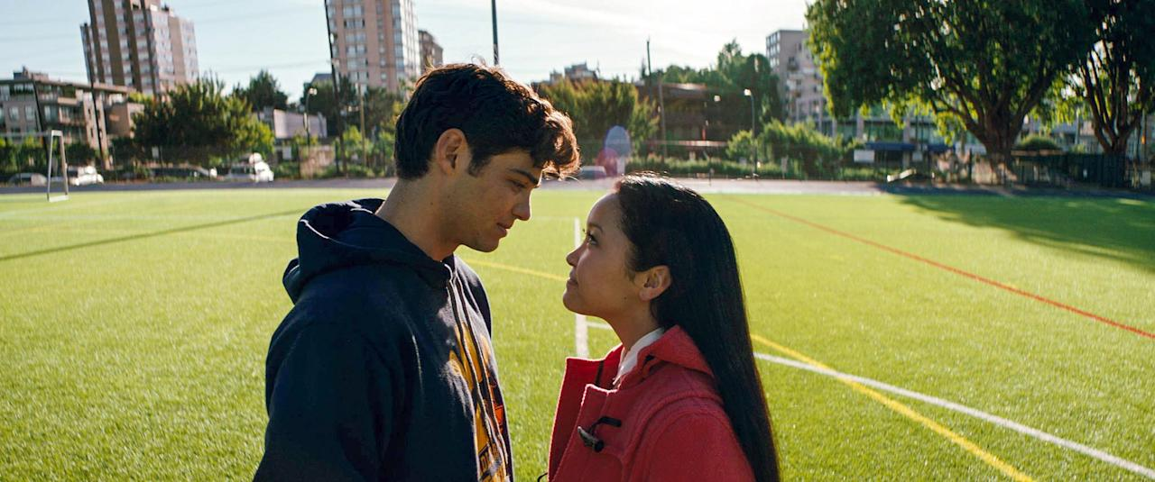 """<p>Yes, <em>To All the Boys I've Loved Before</em> will help fix any blues you feel from <em>Blue Is the Warmest Color</em>. In this giddy Netflix original, a high school junior (Lana Condor) freaks out when love notes she never intended to send to her crushes become public. Oh, and who's her love interest, you ask? Just some unknown guy named Noah Centineo.</p> <p><em>Available to stream on</em> <a href=""""https://www.netflix.com/title/80203147"""" rel=""""nofollow"""" target=""""_blank""""><em>Netflix</em></a><em>.</em></p>"""
