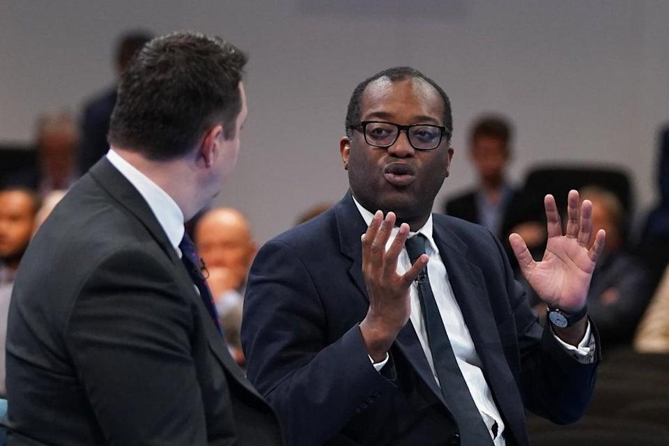 Kwasi Kwarteng during the Conservative Party conference (Stefan Rousseau/PA) (PA Wire)
