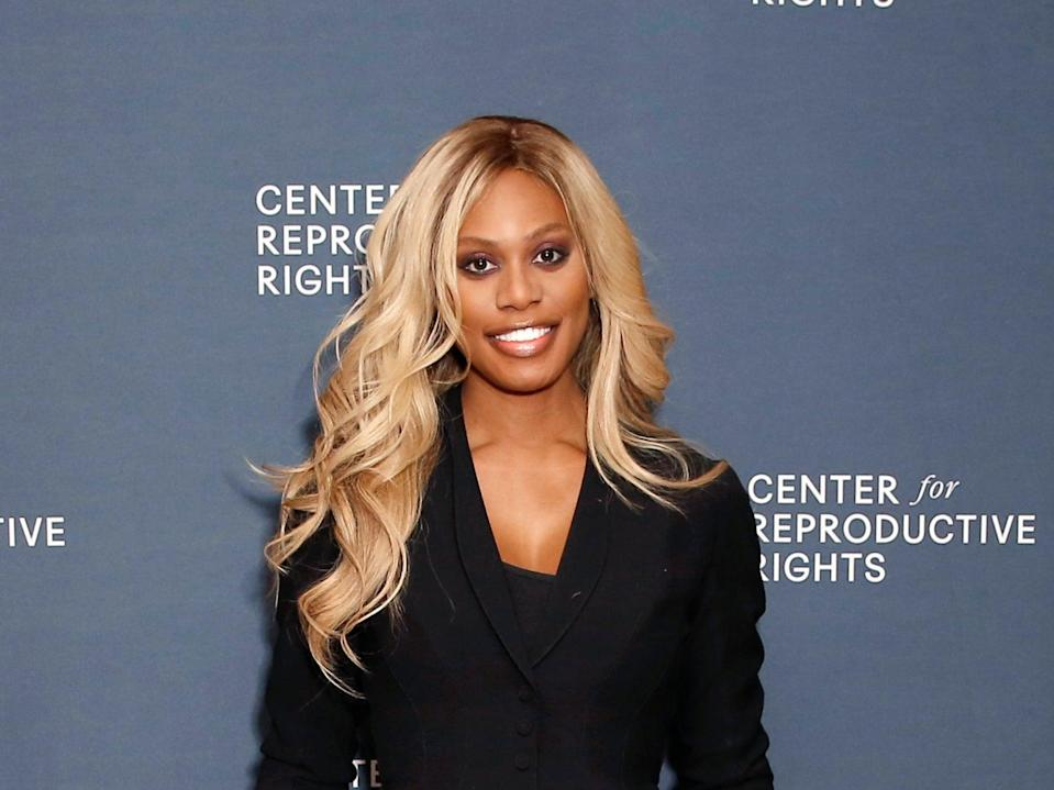 Laverne Cox at the Center for Reproductive Rights benefit in February, 2020 (Getty Images for Center for Repr)