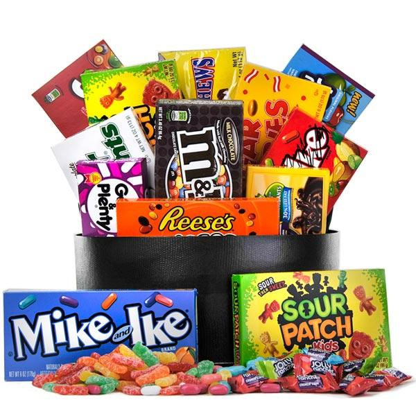 GiftBasket.com The Sweet Tooth Candy Basket