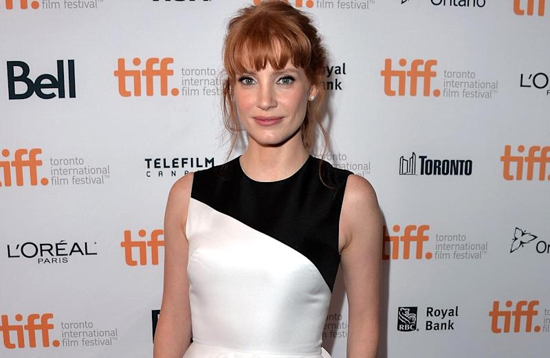 Jessica Chastain at the 2014 Toronto International Film Festival